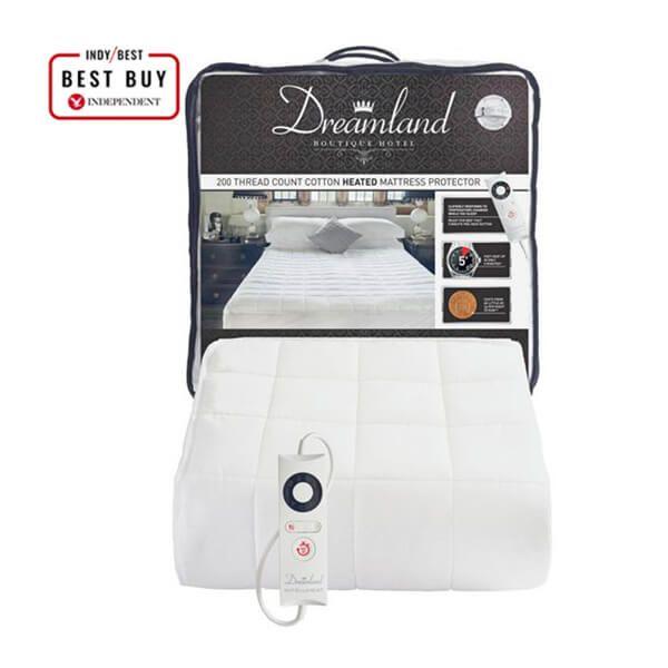 Dreamland Boutique Heated Mattress Protector Single