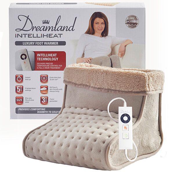 Dreamland Intelliheat Luxury Heated Foot Warmer