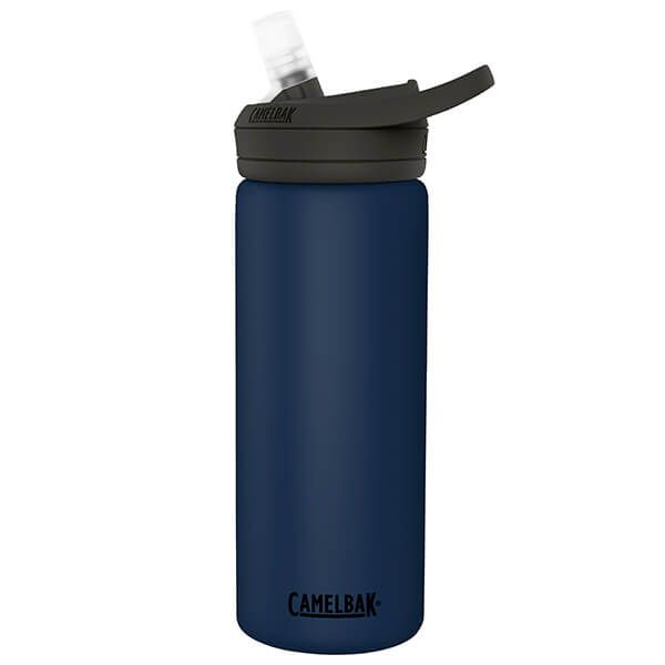 CamelBak 600ml Eddy Insulated Stainless Steel Navy Water Bottle