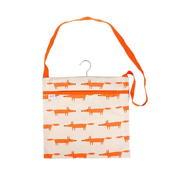 Scion Living Mr Fox Wipe Clean Stone Peg Bag