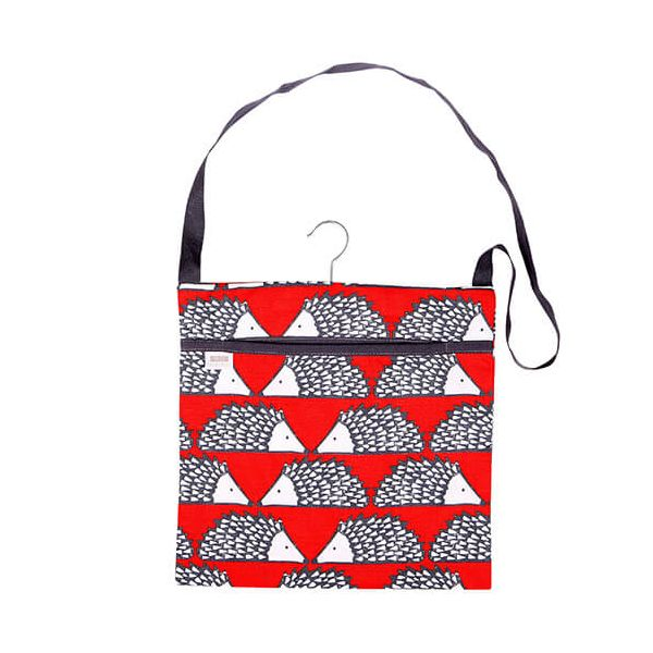 Scion Living Spike Wipe Clean Red Peg Bag