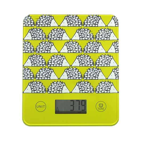 Scion Living Spike Green Electronic Kitchen Scales