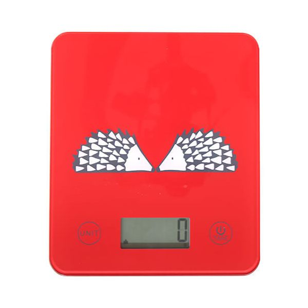 Scion Living Spike Red Electronic Kitchen Scales