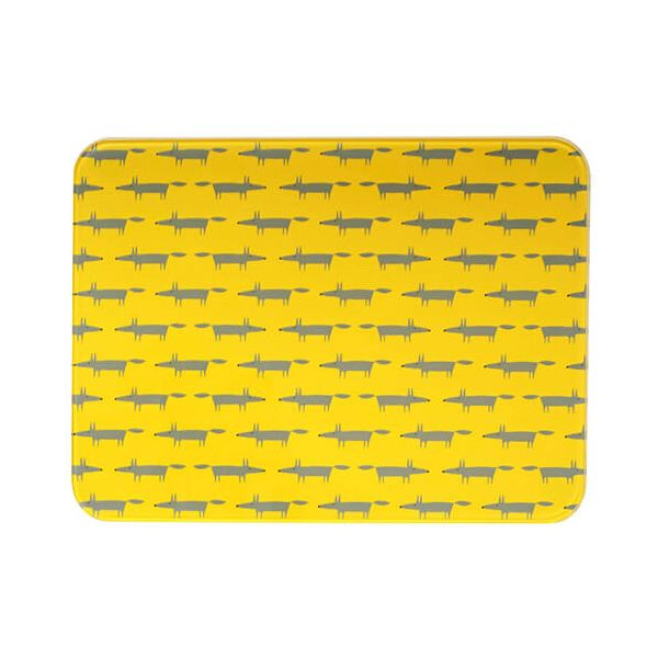 Scion Living Mr Fox Yellow Worktop Saver