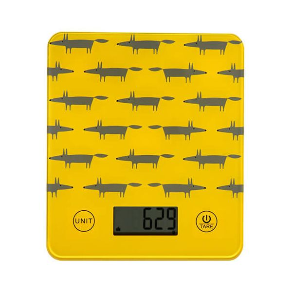 Scion Living Mr Fox Yellow Scales