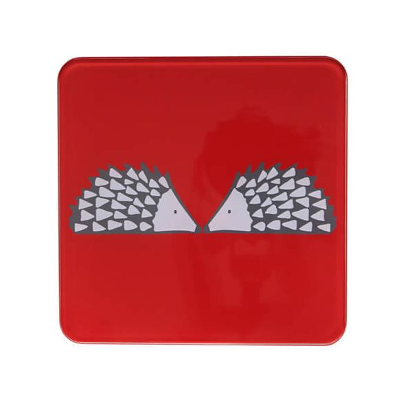 Scion Living Spike Red Hot Pot Stand