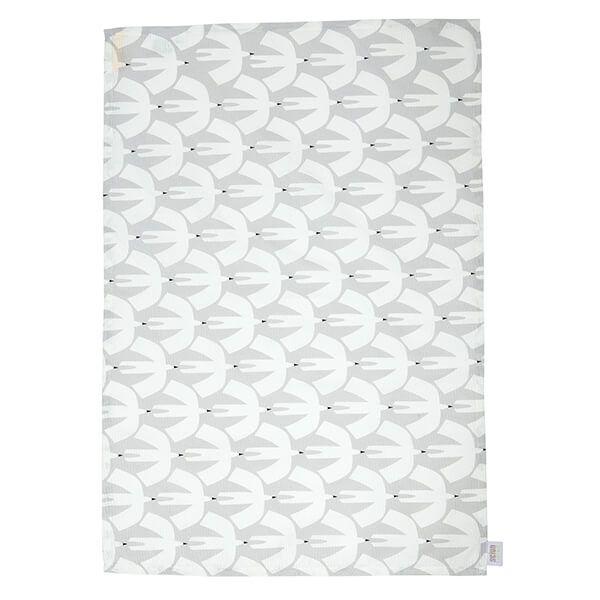 Scion Living Pajaro Grey Set Of 2 Tea Towels