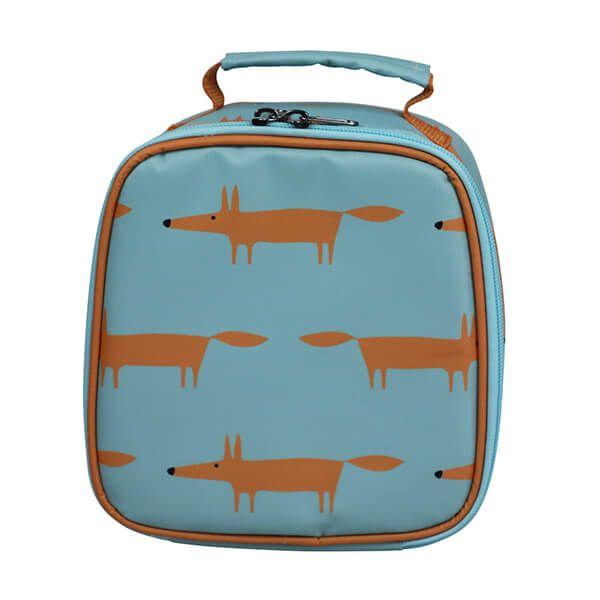 Scion Living Mr Fox Lunch Bag Blue