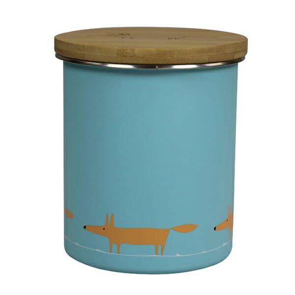 Scion Living Mr Fox Storage Jar Single Print Blue