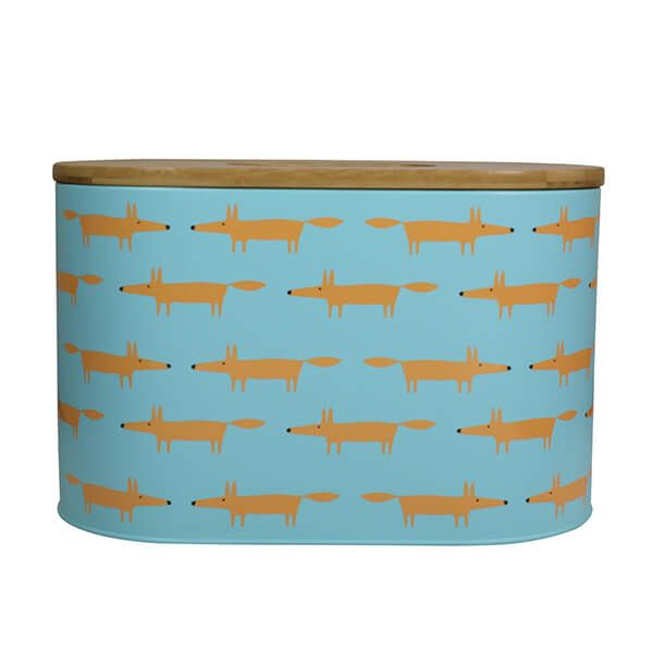 Scion Living Mr Fox Bread Bin Blue