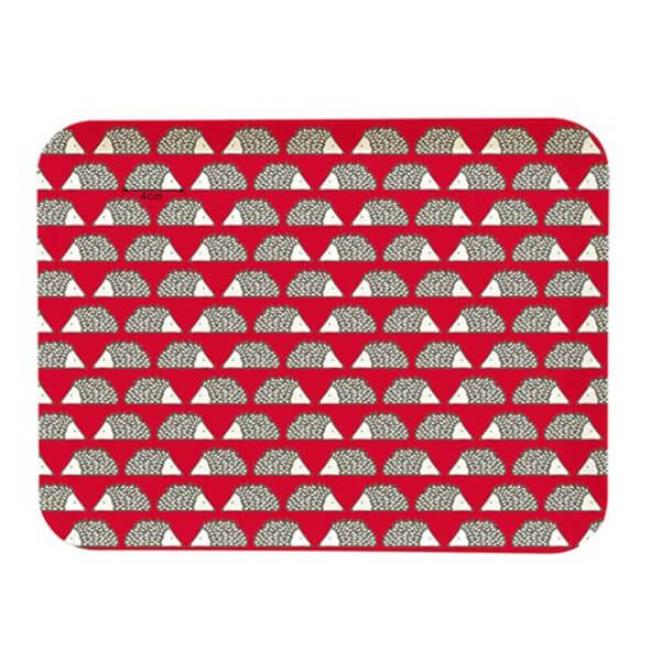 Scion Living Spike Bamboo Tray Red