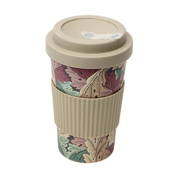Morris & Co Bamboo Acanthus Jewel Drinks Mug 400ml