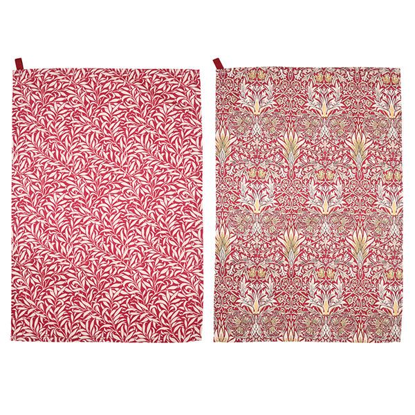 Morris & Co Snakeshead Tea Towels