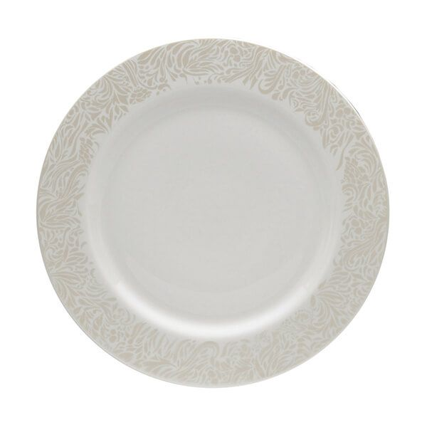Denby Monsoon Lucille Gold Dinner Plate