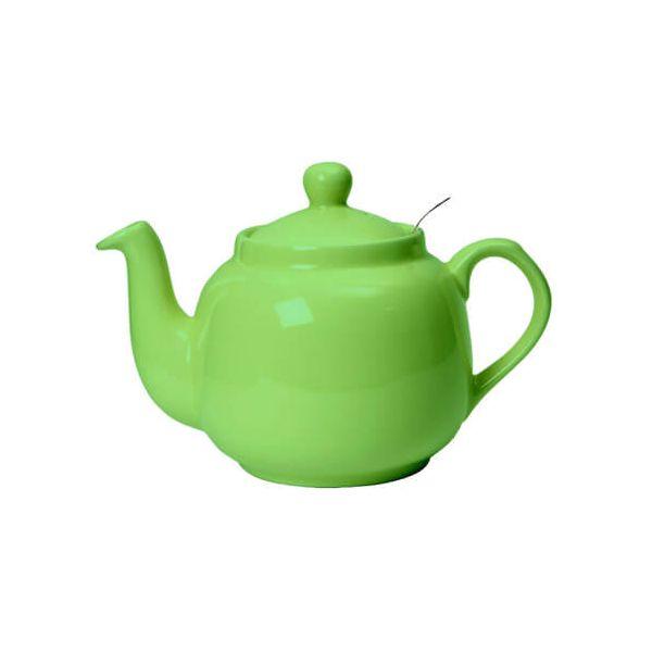 London Pottery 4 Cup Farmhouse Filter Teapot Greenery
