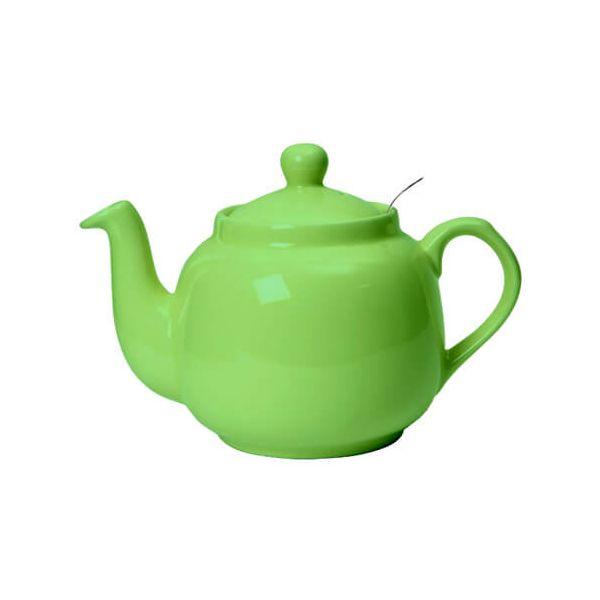 London Pottery 6 Cup Farmhouse Filter Teapot Greenery