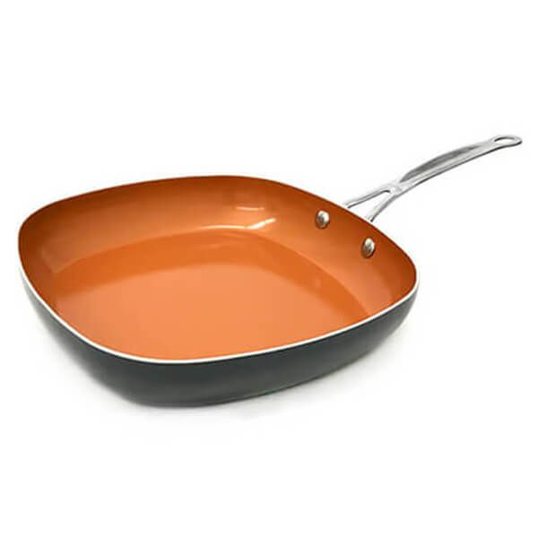 Gotham Steel 30cm Non-Stick Shallow Square Pan