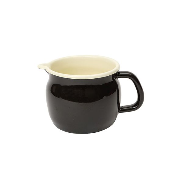 Dexam Small Black Enamelware Measuring Jug