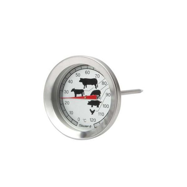 Dexam Stainless Steel Meat Thermometer With Pictures