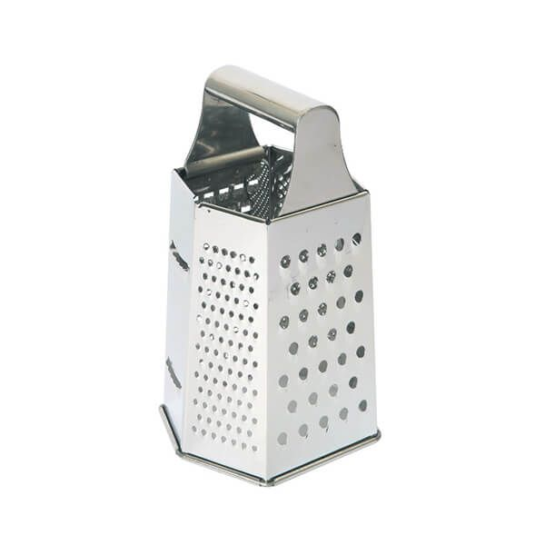 Dexam Hexagonal Grater 20cm Stainless Steel