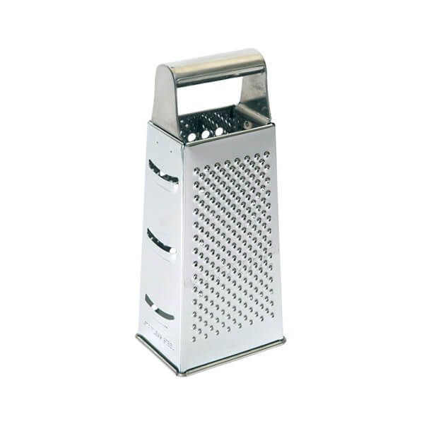 Dexam Box Grater Four Sided 21cm Stainless Steel