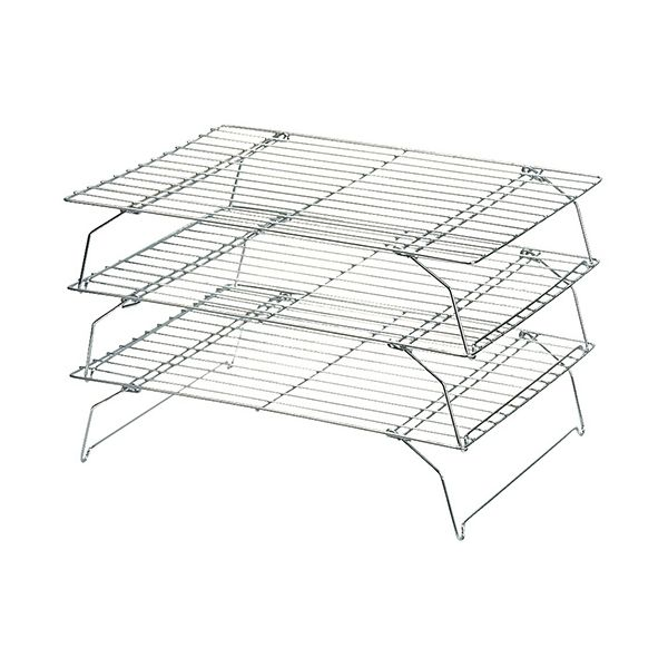 Dexam Set Of 3 Stackable Rectangular Cooling Rack