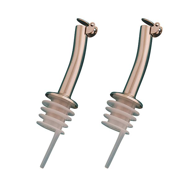Dexam Stainless Steel Oil Drizzlers Pack Of 2