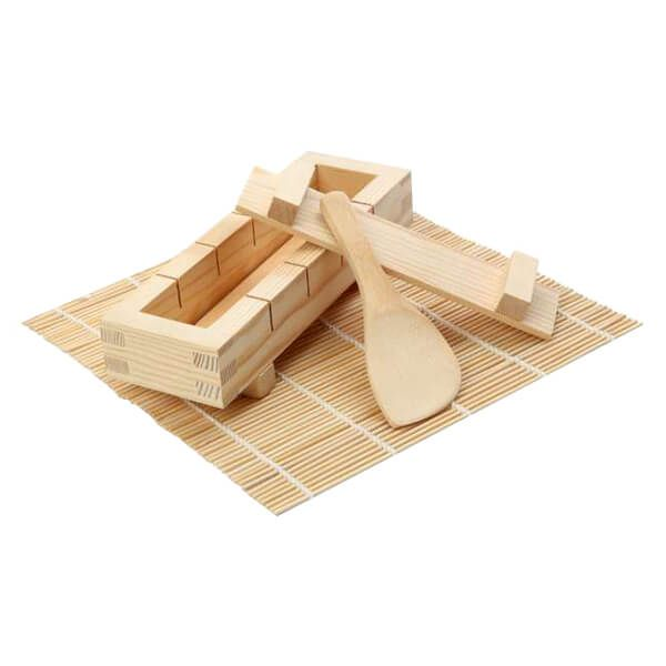 Dexam Sushi Kit with Mat/Paddle/Pressboard