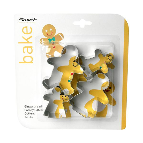 Dexam Gingerbread Family Cookie Cutter Set
