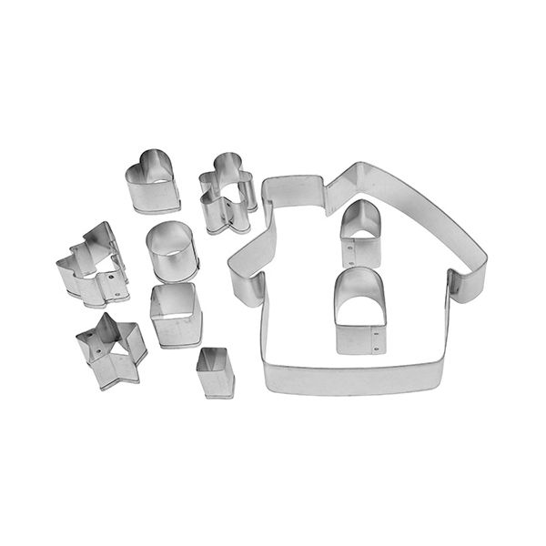 Dexam Make & Bake Gingerbread House Cookie Cutter Set
