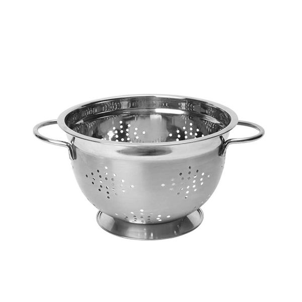 "Dexam 26cm / 10.5"" Stainless Steel Footed Colander"