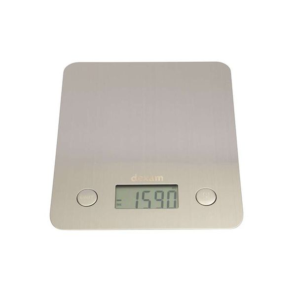 Dexam Stainless Steel Digital Scales