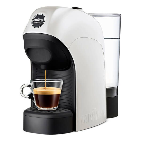 Lavazza Tiny White Coffee Machine