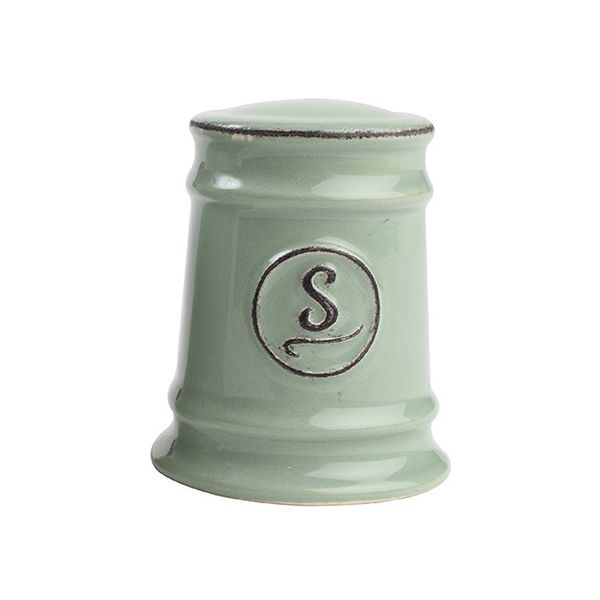 T&G Pride Of Place Salt Shaker Old Green