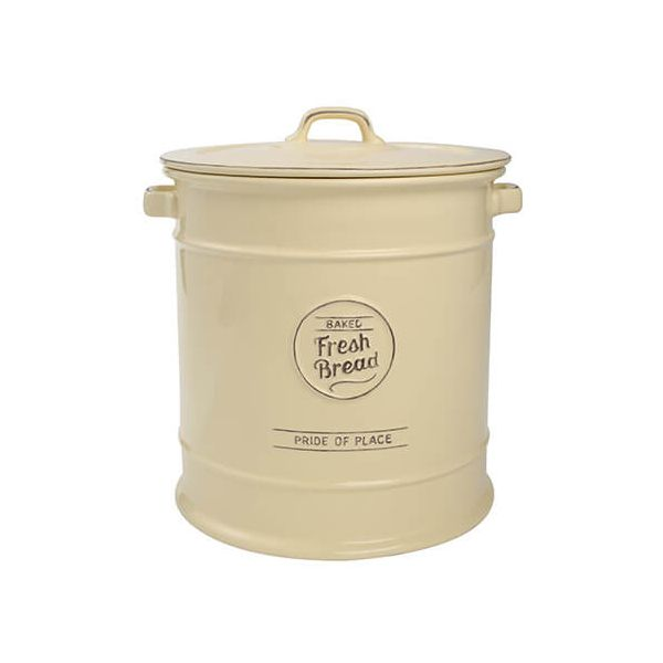 T&G Pride Of Place Bread Crock Old Cream