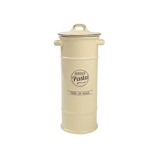 T&G Pride Of Place Pasta Jar Old Cream
