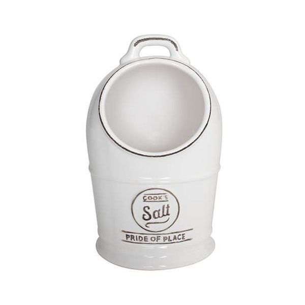 T&G Pride Of Place Salt Jar White