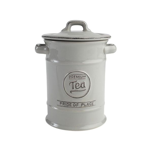 T&G Pride Of Place Tea Jar Cool Grey