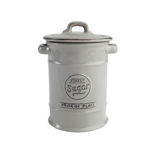 T&G Pride Of Place Sugar Jar Cool Grey