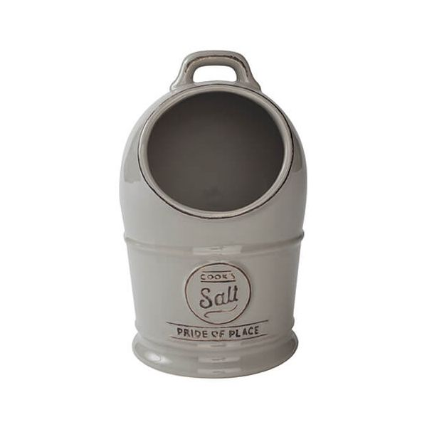 T&G Pride Of Place Salt Jar Cool Grey