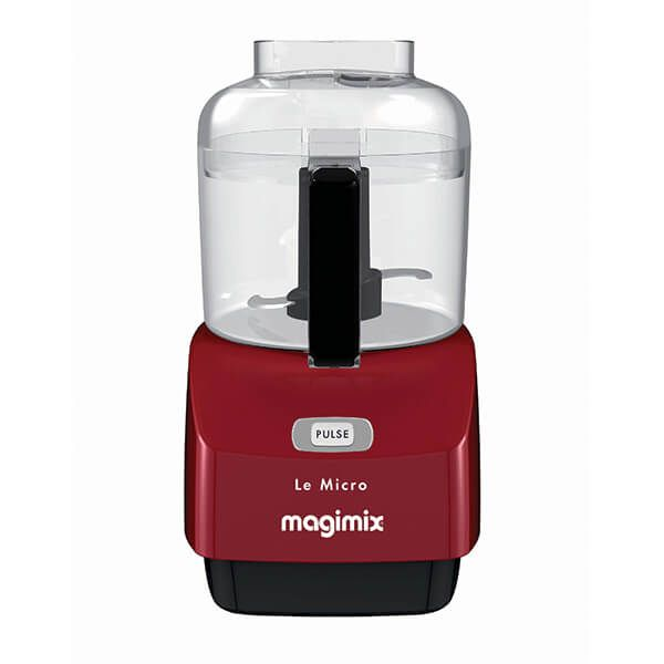 Magimix Mini Chopper Deep Red