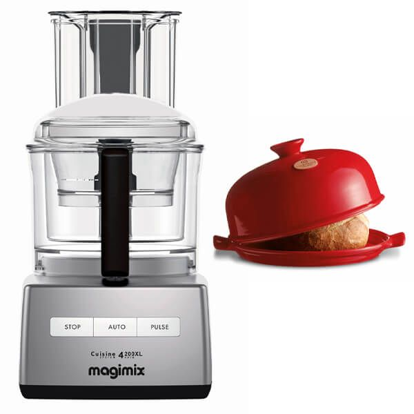 Magimix 4200XL Satin Food Processor with FREE Gift