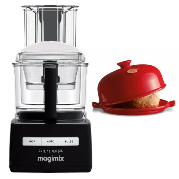 Magimix 4200XL Black Food Processor with FREE Gift