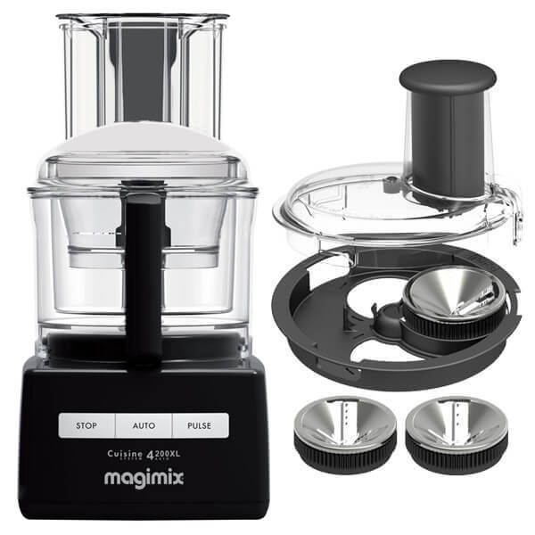 Magimix 4200XL Black BlenderMix Food Processor with FREE Gift