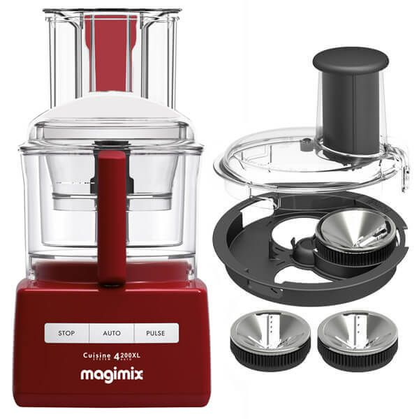 Magimix 4200XL Red BlenderMix Food Processor with FREE Gift