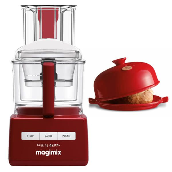Magimix 4200XL Red Food Processor with FREE Gift