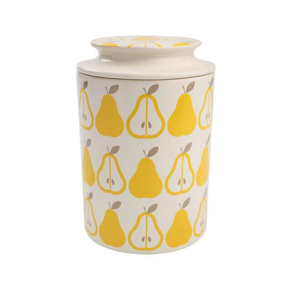 T & G Tutti Frutti Pear Storage Jar
