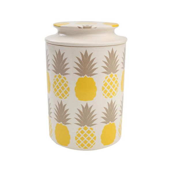 T & G Tutti Frutti Pineapple Storage Jar
