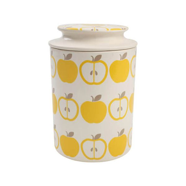 T & G Tutti Frutti Apple Storage Jar