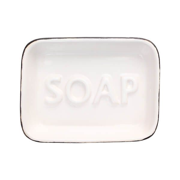 T&G Ocean Soap Dish White